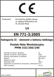 Wentylacja PMW/240